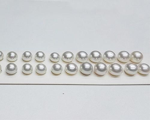 Perla Australiana botón alta 9-11mm.