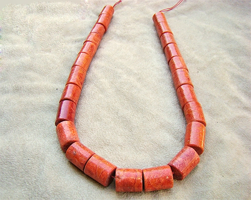 Collar de coral Esponja barril