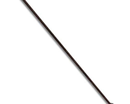 Hilo para enfilar fino (0,1mm.) Negro