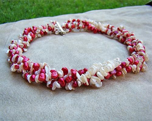 Collar Perla cultivada y Plata