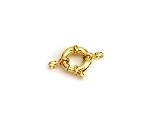 Reasón con anillas dobles 10 mm. - Tubo Ø 2 mm.