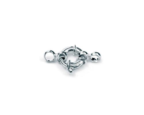 Reasón con anillas 10 mm. - Tubo Ø 2 mm.