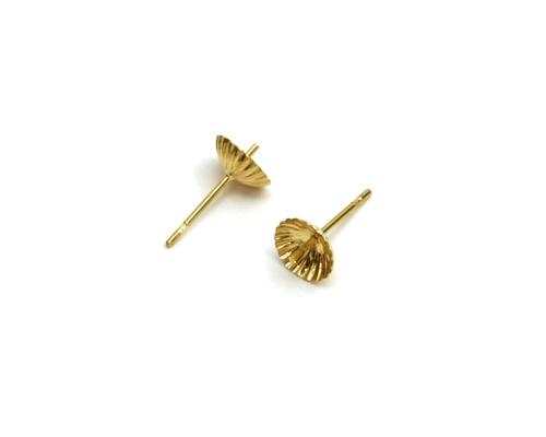 Casquillas Gallonadas 8 mm. - Palillo 9 mm. - Ø 0.70 mm.