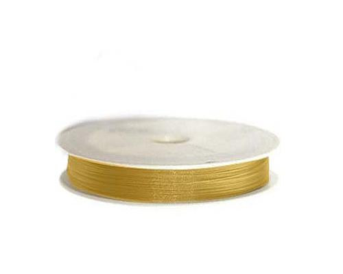 Hilo de Acero Dorado Oscuro (0,45mm.)