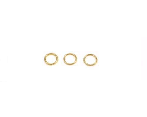 Anilla abierta de oro 3mm.