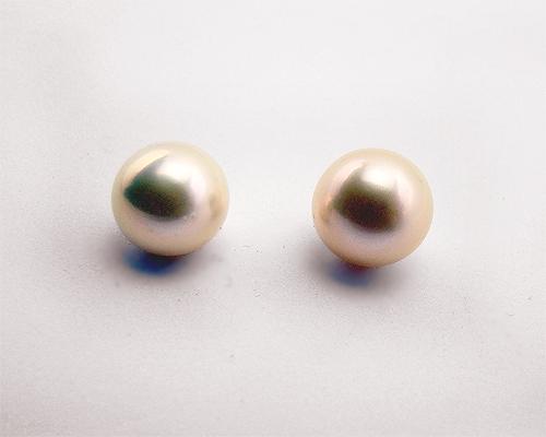 Perla esférica Rosa. 10-11mm.