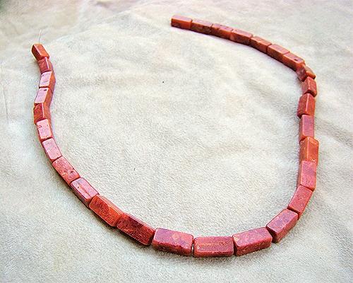 Collar de coral Esponja rectangular