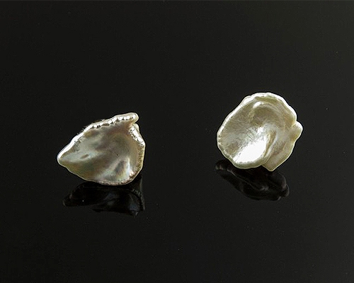 Perla keshi 13mm. Blanca