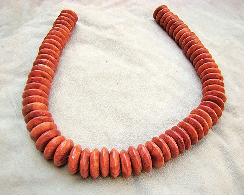 Collar de coral Esponja en disco