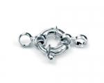 Reasón Ext. 16 mm. - Tubo Ø 3.5 mm. con anillas. Plata