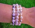 Pulseras de Perlas Cultivadas y charms