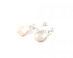 Pendientes de Perlas Cultivadas AAA y Plata 925ml.