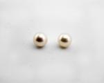 Perla esférica blanca. 10mm.
