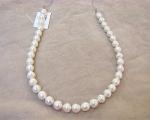 Collar de perla Australiana barroca blanca