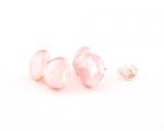 Pendientes de original Perla Cultivada AAA Rosa y Plata