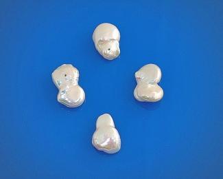 Perla Barroca blanca