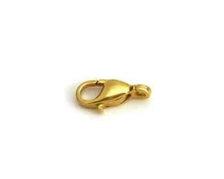Mosquetón de áncora en Oro 9mm.
