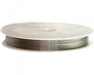 Hilo de Acero Gris Metalizado (0,30mm.)