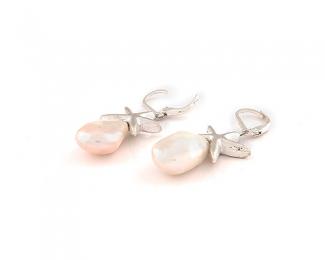 Pendientes de Perlas y Plata